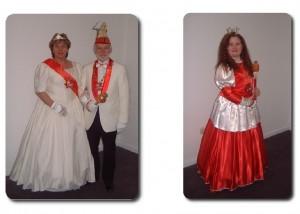 Prinz Josef I. & Prinzessin Katharina I. mit Kinderprinzessin Ashley I.
