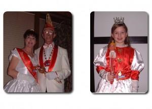 Prinz Karl Friedrich I. & Prinzessin Gerda I. mit Kinderprinzessin Lara I.