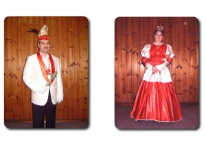 Prinz Michael I. mit Kinderprinzessin Eileen I.