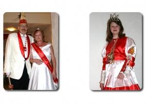 Prinz Rainer I. & Prinzessin Sabine II. mit Kinderprinzessind Anna Joline I.