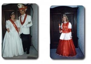 Prinzessin Claudia I. & Prinz GerdI. mit Kinderprinzessin Julia II.