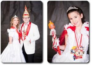 Prinzessin Daniela I & Prinz Marc I mit Kinderprinzessin Nathasia I
