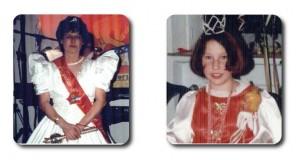 Prinzessin Gudrun I. mit Kinderprinzessin Jana I.