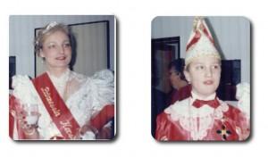 Prinzessin Kerstin I. mit Kinderprinz Sven I.
