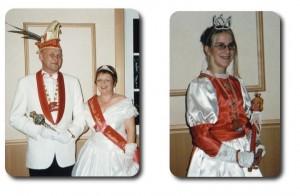 Prinzessin Sabine I. & Prinz Wolfram I. mit Kinderprinzessin Jennifer I.