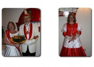 Prinzessin Sabine II. & Prinz Rainer I. mit Kinderprinzessin Tabea I.
